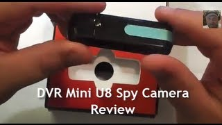 Repeat youtube video DVR Mini U8 Covert Spy Camera Review and Operation Guide for Private Investigators