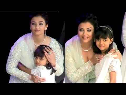 Aishwarya Rai Faces Shocking W@rdrobe M@lfunction Making Aaradhya's Dress Proper