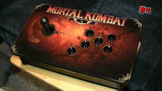 Mortal Kombat Tournament Edition Arcade Stick Review by Retroware TV