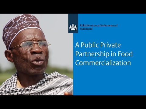 A Public Private Partnership in Food Commercialization