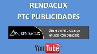 RendaClix PTC Publicidades - Divulgação de Sites PTC