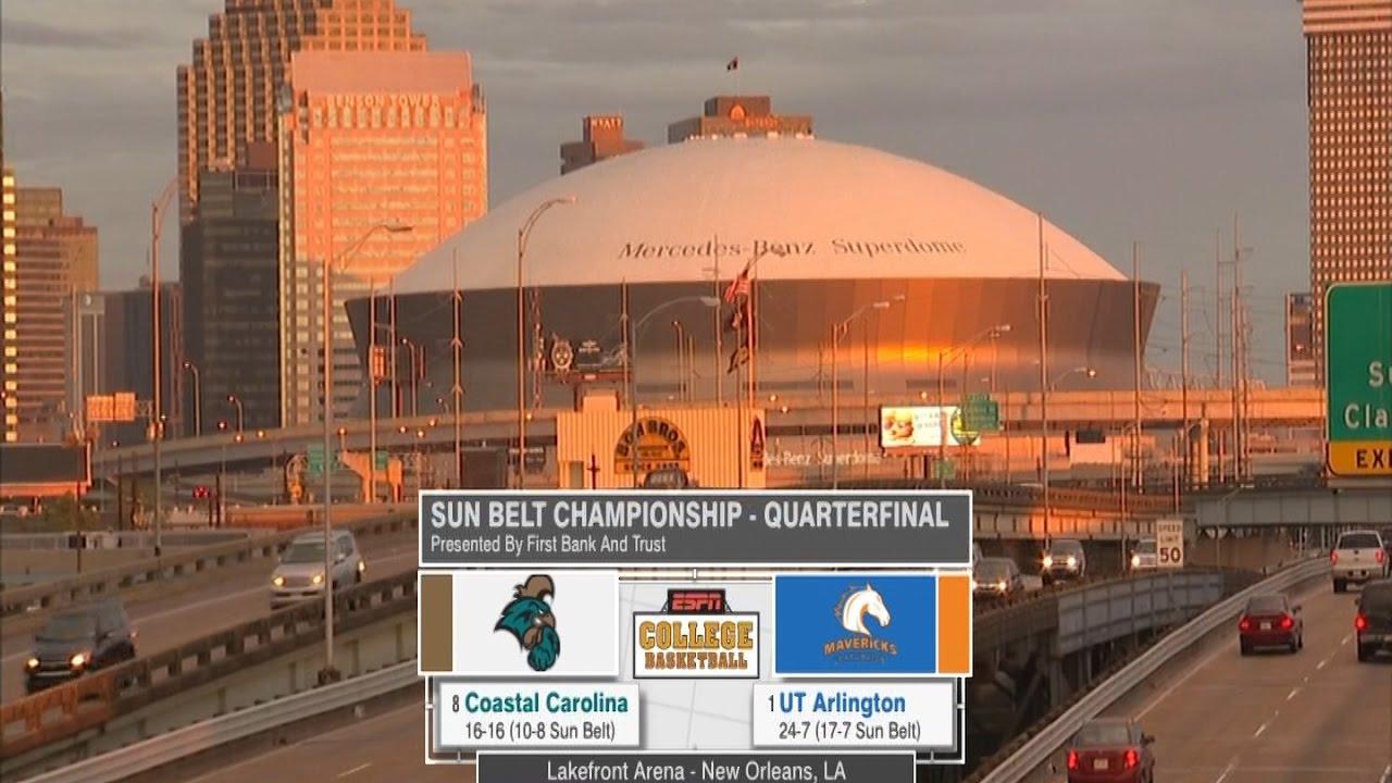 Download 2017 Sun Belt Men's Basketball Champ: Quarterfinal Highlights UTA vs Coastal Carolina