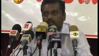 News 1st Prime time 8PM  Shakthi TV news 06th November 2015