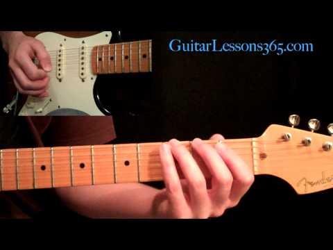 Guns N' Roses - Paradise City Guitar Lesson Pt.2 - Main Riff & Verse
