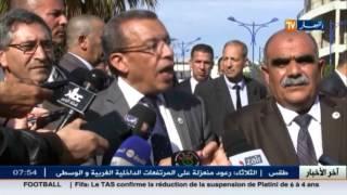 وزير المالية عبد الرحمان بن خالفة  في تصريحات معاكسة يؤكد إستقرار الوضع المالي والإقتصادي للبلاد