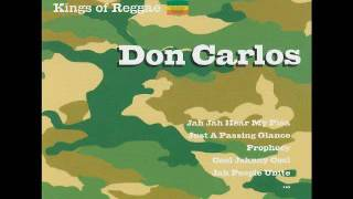 Don Carlos - Kings of reggae (full album)