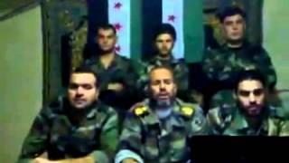 إنشقاق المقدم المظلي خالد مفلح العبد الله من الفرقة 14