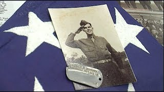 World War II airman's dog tags return to family 75 years later