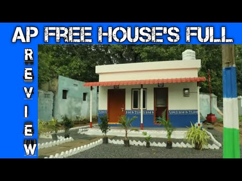 Govt House Design Details and review in telugu || Ap free house ysr illu demo house details Telugu