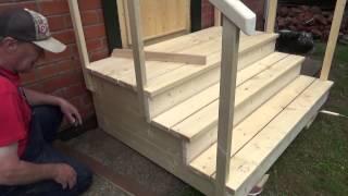 видео Как правильно построить крыльцо