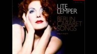 Ute Lemper - Ich weiß nicht zu wem ich gehöre