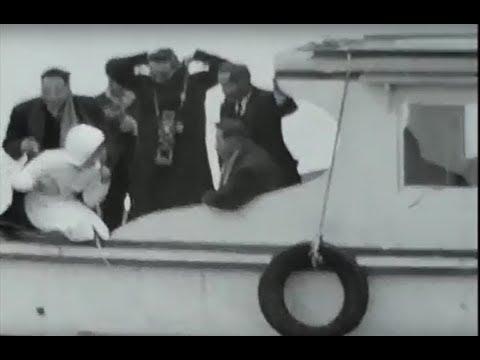 昭和の映像05@昭和33年4月伊勢志摩観光ー自動車と馬車が時代ですね