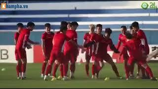U23 Việt Nam tập luyện chu đáo thế nào để tối nay đánh bại Nhật Bản