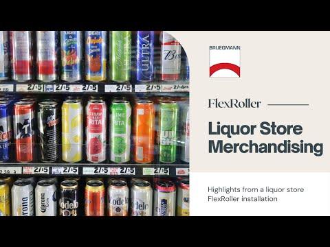 Liquor Store FlexRoller Installation