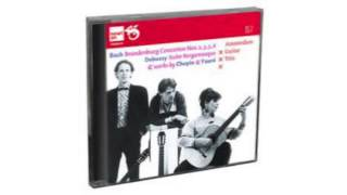 Bach, Debussy, Chopin & Fauré door het Amsterdam Guitar Trio Newton Classics 2 CD  8802093