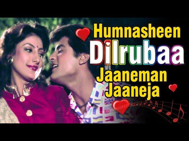 Hum Nasheen Dilrubaa | Bollywood Songs | Sadhana Sargam | Anaam (1992)