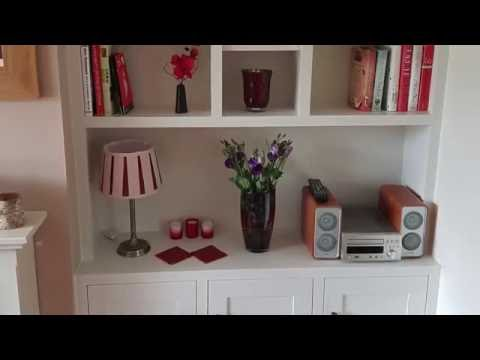 DIY Fitted/Built-in Alcove Unit/Cabinet/Cupboard/Bookshelves in MDF