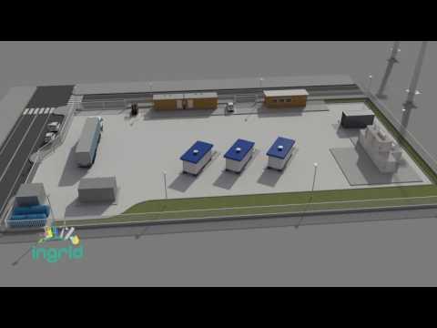 INGRID: a Troia (FG) l'impianto dimostratore per l'accumulo di energia a idrogeno solido