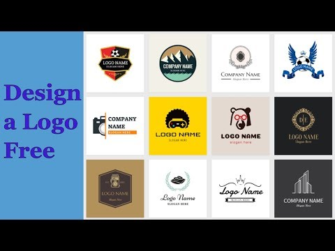 Logo design with FREE SOFTWARE.