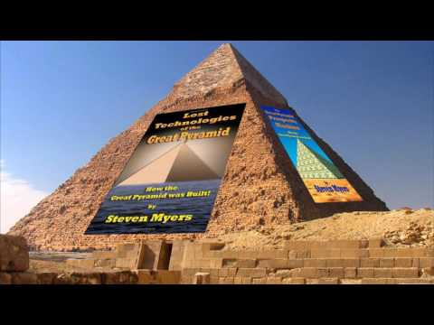 a discussion on how the great pyramid was built