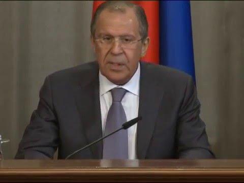 RIC Foreign Ministers Press Conference   Пресс-коференция мининдел РИК