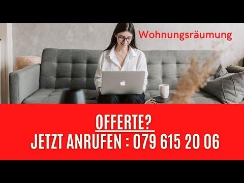 Wohnungsräumung Neftenbach- Hausräumung