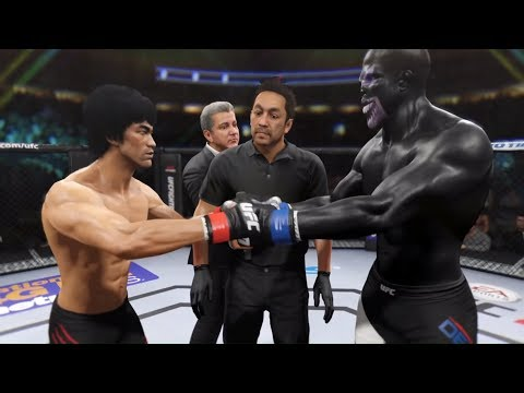 Bruce Lee vs. Black Devil (EA Sports UFC 2) - Rematch