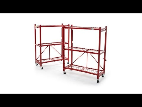 Origami Steel Heavy Duty 3Tier Rack 2pack