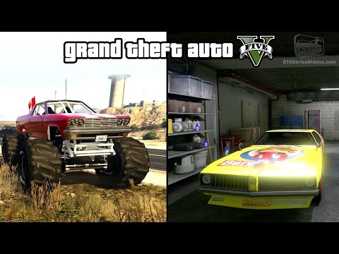 GTA 5 - Cheval Marshall & Stock Car Races Gameplay (How to ...