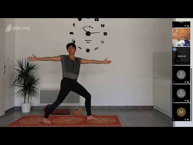 hatha yoga dynamique live #ancrage