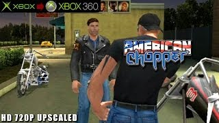 American Chopper - Gameplay Xbox HD 720P (Xbox to Xbox 360)