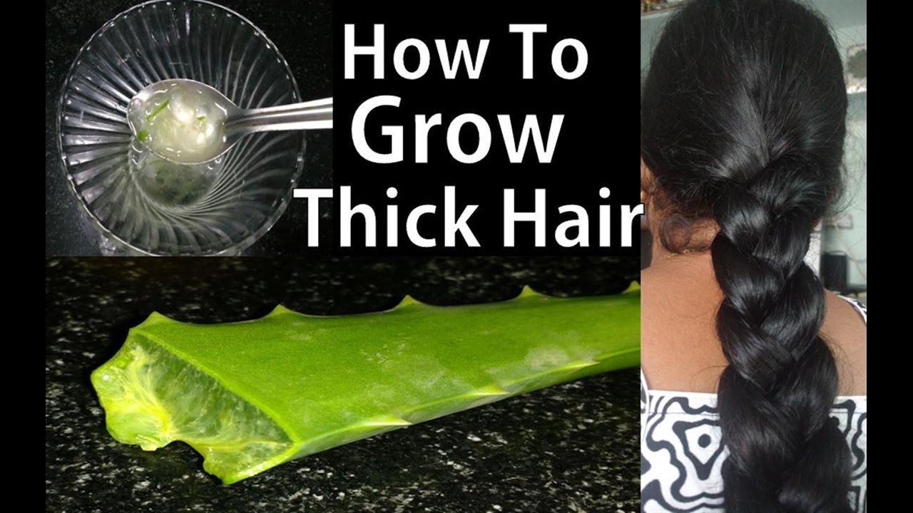 Aloe Vera Gel For Thinning Hair