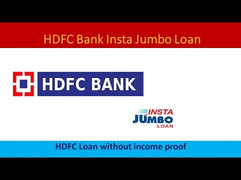 HDFC Pre-approved Jumbo Loan With Proof