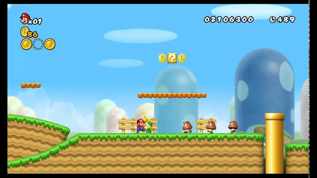 New Super Mario Bros Wii. Play for free - RomsPlanet.com