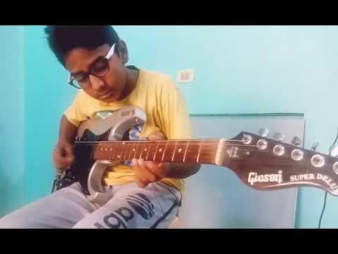 Nannaku Prematho    Guitar instrumental by Saathvik