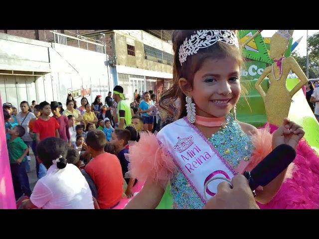 La Mini Reina Eliana Farías conversa con EL CARUPANERO DIGITAL