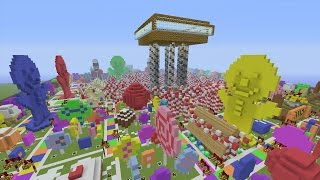 Minecraft Xbox - Candyland Board Game - Hunger Games