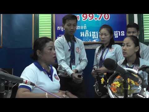 Visit to Radio 9 Makara Kampot National FM 99.70 MHz