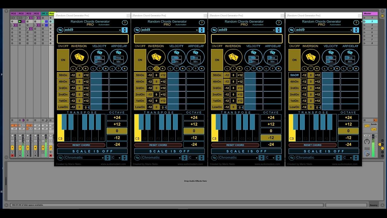 Random Chords Generator Pro DEMO   YouTube