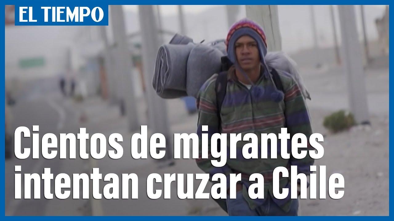 Download Centenares de venezolanos cruzan de Bolivia a Chile pese a amenazas de deportación