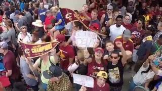 Highlights From The Cleveland Cavaliers&39 World Championship Parade