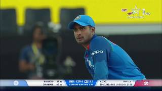Highlight Ind vs Hongkong - Asia Cup 2018