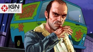 recreating the mystery machine in gta 5 ign plays live