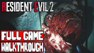 RESIDENT EVIL 2 Gameplay Walkthrough Part 1 FULL GAME - No Commentary (Resident Evil 2 Remake Leon)