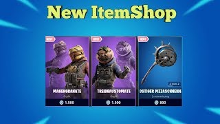 Fortnite Item Shop 16.8.19 I NEW Cool SKINS + BANNER SCHILD I Fortnite Battle Royale Shop