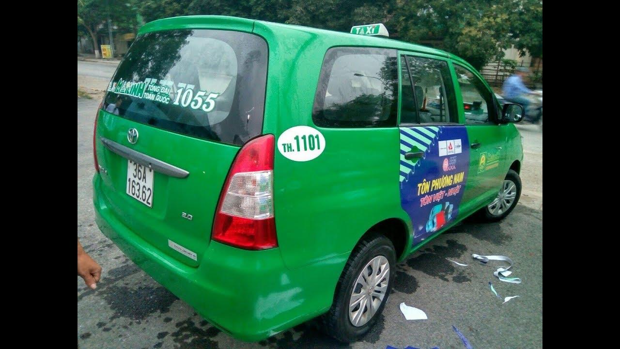 Quảng cáo trên taxi Mai Linh tại Thanh Hóa hiệu quả cao [dannamadv.vn]