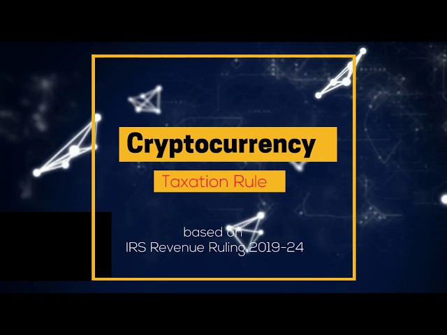 cryptocurrency tax method for usa