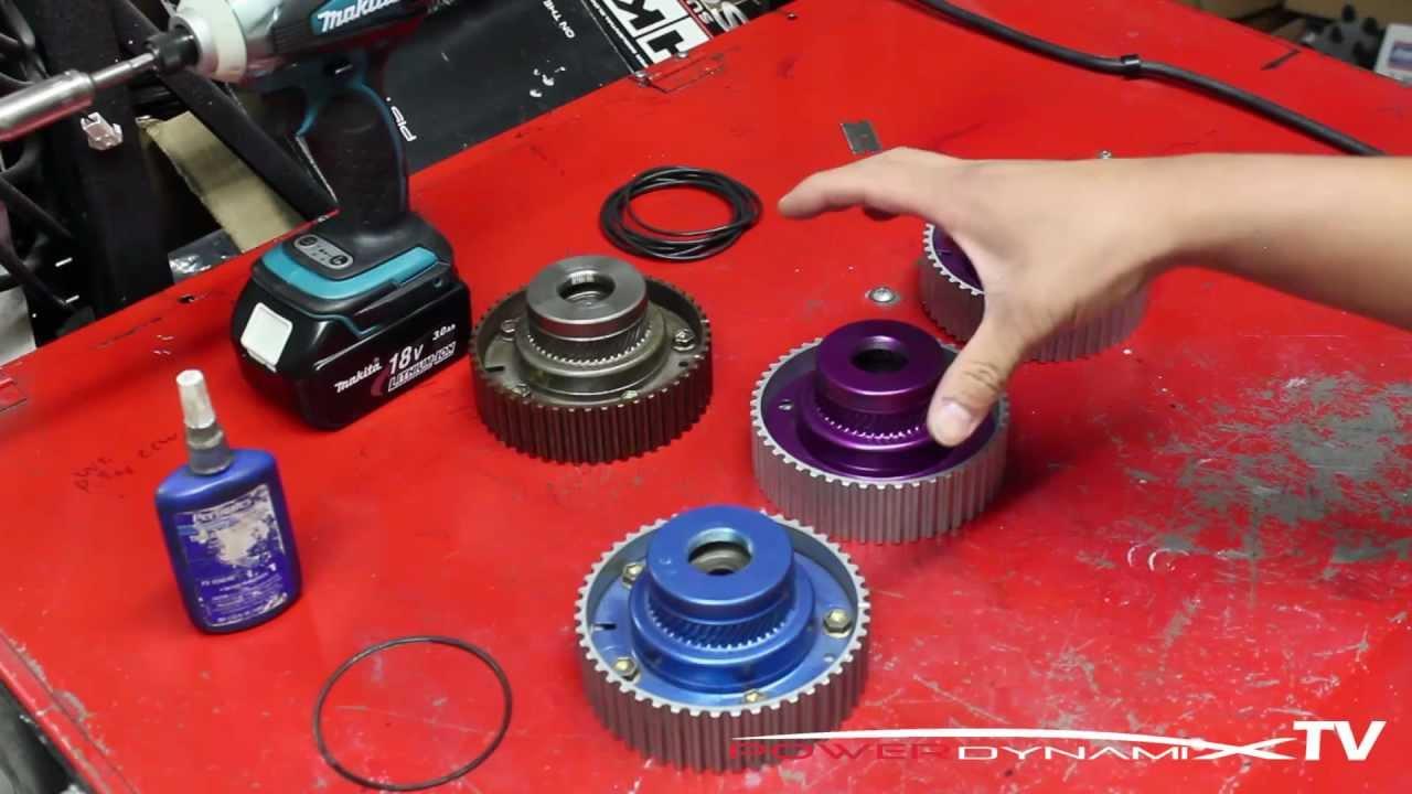 Jeff's Garage: DIY Rebuilding a 2JZ/1JZ VVTi Cam Gear when it starts  leaking!