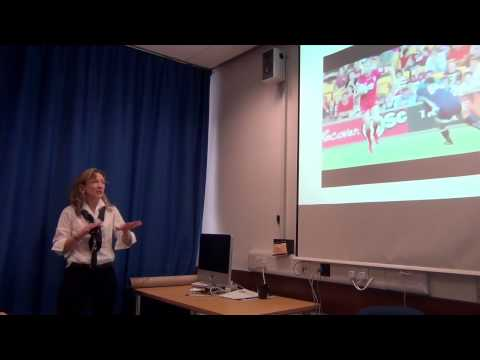 How perception guides action: Examples from Sport and Health - Prof. Cathy Craig