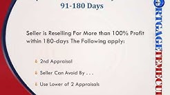 Rules For FHA Flips - Investor Flips - 90 Day Rule - 90 Day Flips